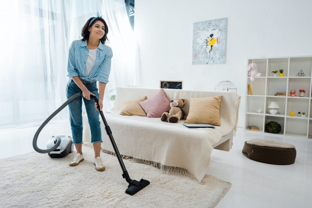 deal with tough carpet stains